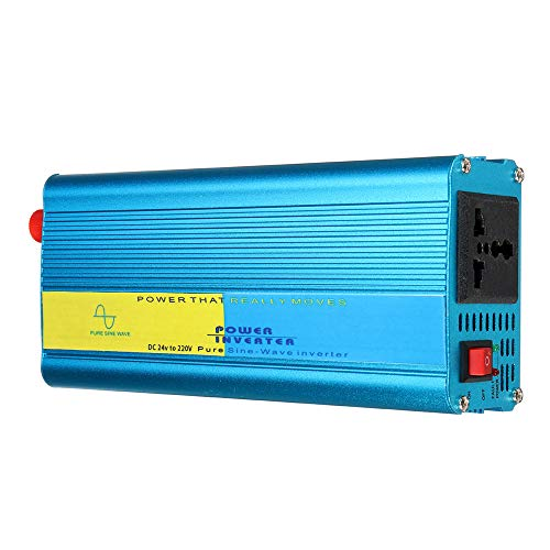 Benficial Power 1200 WATT Pure SINE Inverter with Transfer Switch 12 V DC to 120 VAC - UL Listed