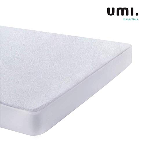 UMI. Essentials – Wasserdichter und Atmungsaktiver Matratzenschoner, Baumwolle - 60 x 120 cm (Oeko-TEX® Standard 100)