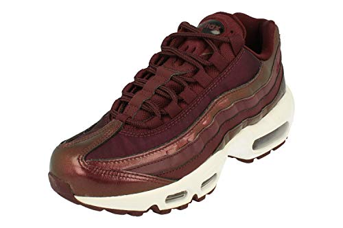 Nike Wmns Air MAX 95 SE, Zapatillas de Deporte Mujer, Multicolor (Burgundy Crush/Burgundy Crush/White 600), 36.5 EU