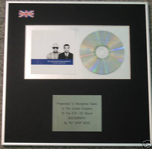 Pet Shop Boys - CD Álbum premio - discografia