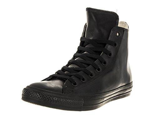 Converse Unisex-Erwachsene Chuck Taylor All Star High Rubber Sneaker top, schwarz, 37 EU