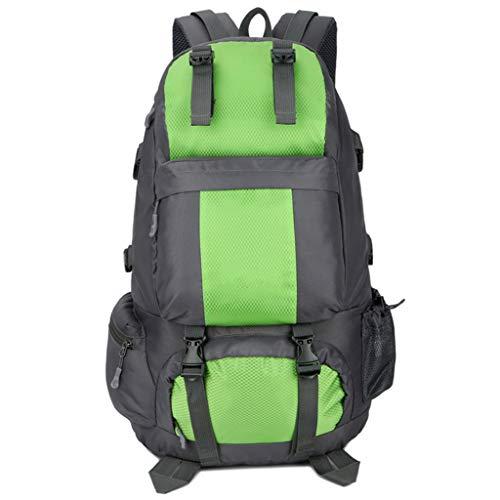 Jia Jia backpacks アウトドア登山バッグ大容量防水スポーツレジャー旅行キャンプバックパックの男性と女性 !! (Color : E)
