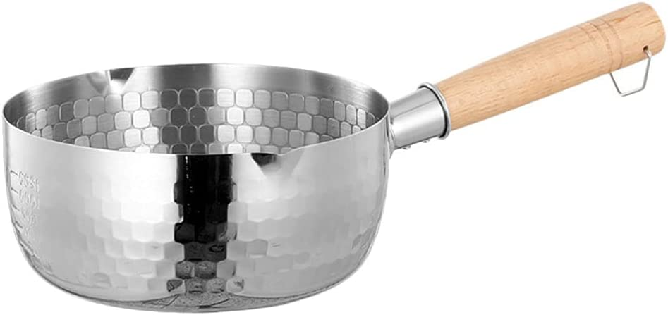 Cabilock Stainless Steel Saucepan with Creamer 5 ☆ Super sale period limited very popular Milk Lid Pot