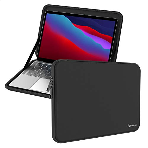 Smatree 13 inch Hard Shell Case Carrying Case for Macbook Pro Macbook Air 2018-2020 13.3 inch/ Surface Pro 7 6, Black