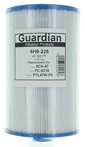 2 Pack - New Spa Filter Cartridges Fit: UNICEL 6CH-47--FILBUR FC-0315--Pleatco PTL47W-P4