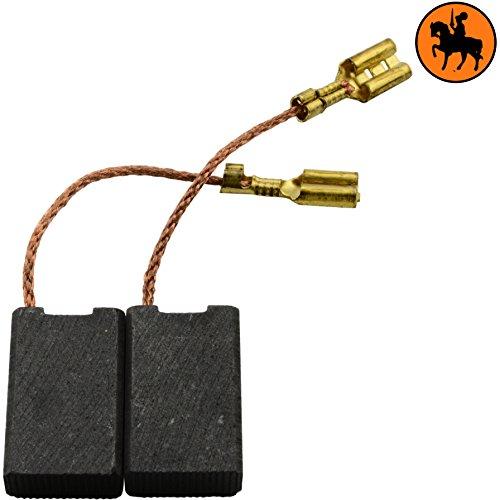 Kohlebürsten für KRESS CHKS6066 Duo-Säge Säge -- 6,3x12,5x20mm -- 2.4x4.7x7.9'' -- Mit automatische Abschaltung