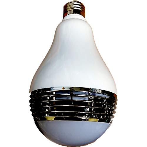 【AZUCK】 高音質 2in1 LED電球スピーカー (調光調色 音楽再生 スマホ操作 Bluetooth4.0 E26/27口金 対応) 日本語説明書 & 1年保証付き