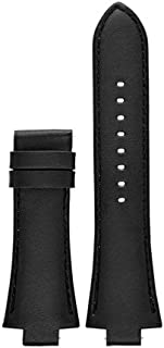 Michael Kors Access Dylan Black Smooth Leather Strap
