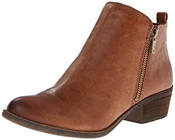 Lucky Brand womens Basel boots Toffee 8.5 US