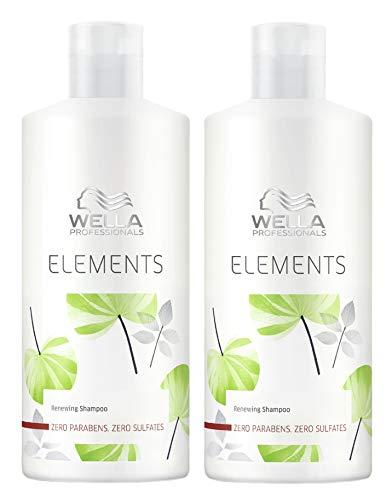 2er Stärkendes Shampoo Renewing Elements Care Wella Professionals 500 ml