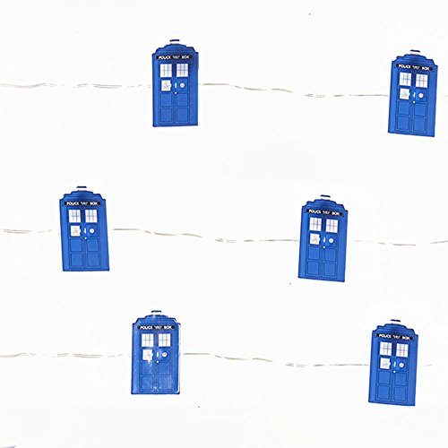 Doctor Who Tardis LED Fee Lichterset - 20 Lichter