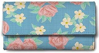 ShopMantra Canvas Beautiful Flower Design Multicolour Women's Wallet