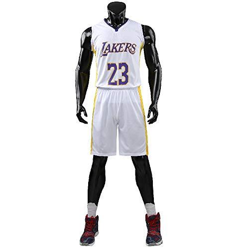unbrand Erwachsene Cleveland Cavaliers Lebron James # 23 Basketball Shorts Sommer Trikots Basketball Uniform Top & Short