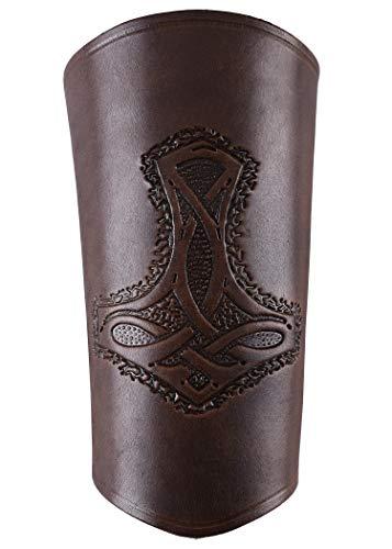 Les manchettes de bras vikings en cuir