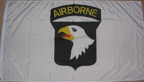 101st Airborne Amerikaanse leger Wereldoorlog 2 witte vlag