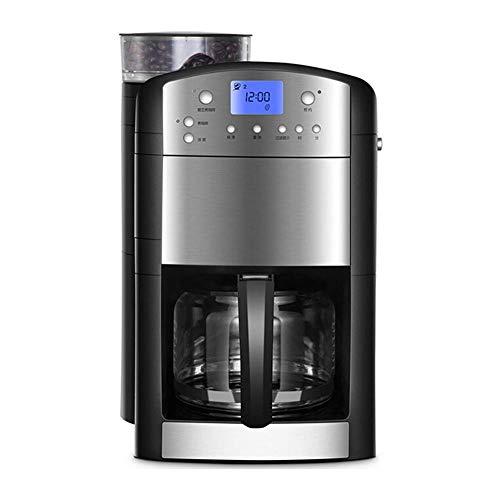HRRF Máquinas de café domésticas, hogar doméstico Completo-Automático Recién molido Polvo de Frijol Dual de Doble Uso de la Gran Capacidad de Goteo de Goteo