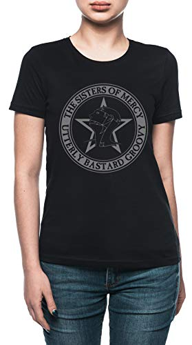 The Sisters of Mercy - The Worlds End - Utterly Bastard Groovy Damen T-Shirt Schwarz