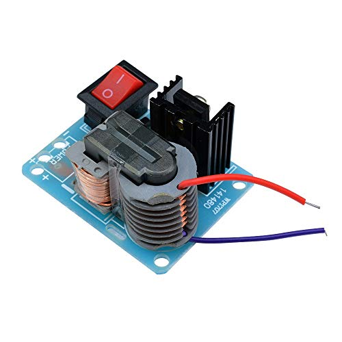 15KV DIY Kit U Kern-Transformator Suite 3.7V Hochfrequenz DC Hochspannungs-Lichtbogenzündung Generator Inverter-Boost-Step Up 18650 (Size : Welding Finished Products)