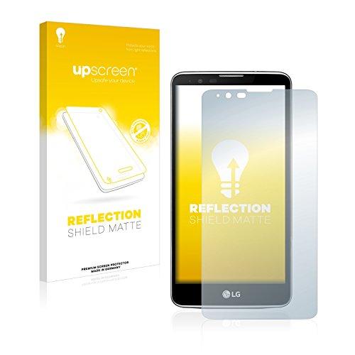 upscreen Entspiegelungs-Schutzfolie kompatibel mit LG Stylus 2 – Anti-Reflex Bildschirmschutz-Folie Matt