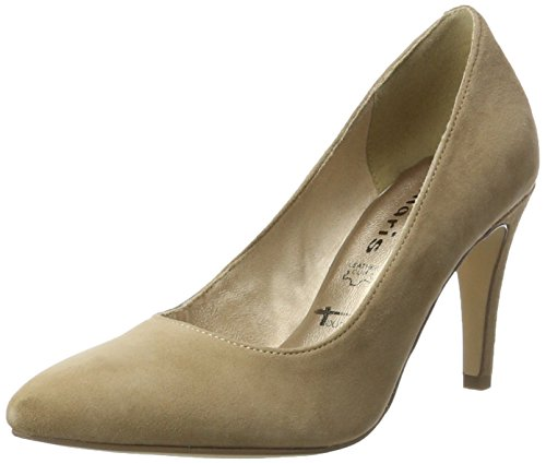 Tamaris Damen 22473 Pumps, Braun (Pepper), 39 EU