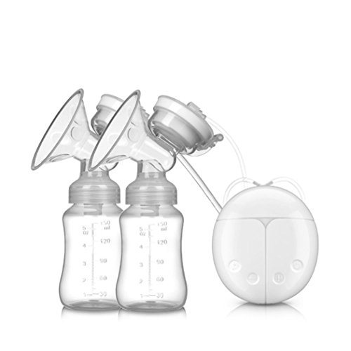 Review Of KingWo Breast Pump,Baby USB Double Intelligent Electric Breast Nipple Suction Pump Breastp...