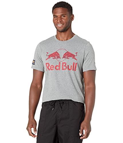 PUMA Camiseta para Hombre RBR Double Bull, Gris Medio, M