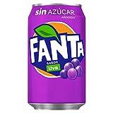 Fanta Uva Zero Azúcar Lata - 330 ml