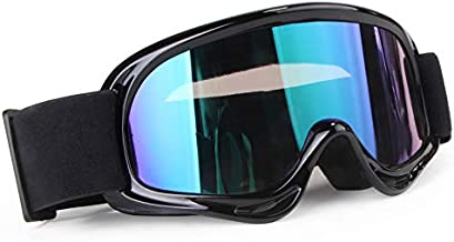 XYOP Kids Teenagers Youth ATV Motorcycle Dirtbike Cycling Ski Snowboard Motocross Riding Goggles UV Protection Racing Dirt Bike Goggle Color Lens