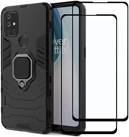 Strug for OnePlus Nord N10 5G Case Heavy Duty Protection Shockproof Kickstand Armor Case with product image