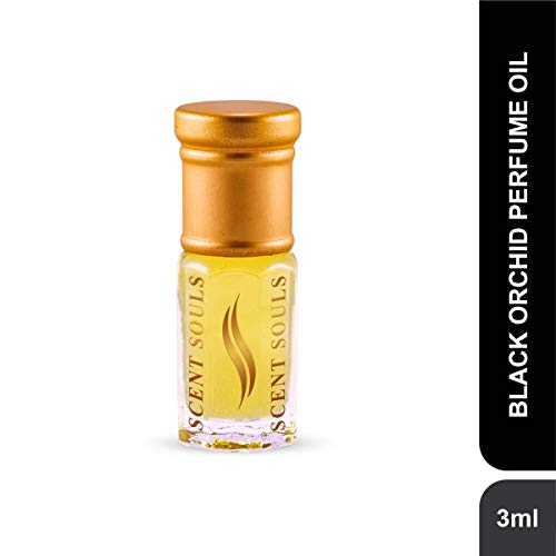 Scent Souls Black Orchid Long Lasting Attar Fragrance Perfume Oil For Men & Women- 3 ml