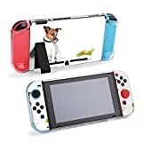 SUPNON Jack Russell Dog with Healthy Vegan Food Bowl Compatible with Nintendo Switch Console & Joy-Con Protective Case, Durable Flexible Shock-Absorption Anti-Scratch Drop Design26479