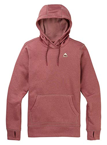 Burton Damen Oak Fleece Pullover, Rose Brown Heather, L