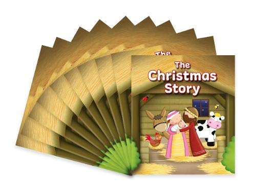 The Christmas Story: Pack of 10 (Candle Bible for Kids)