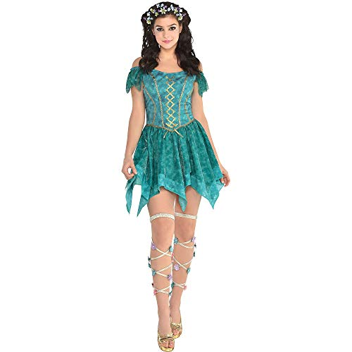 Adult Fairy Flowy Dress - Nymph Fairy, Multicolor, One Size