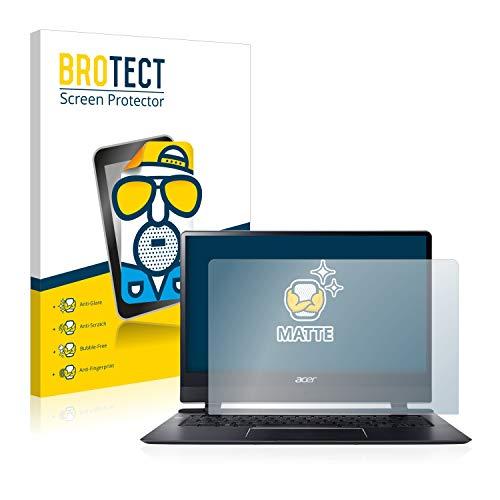 BROTECT Entspiegelungs-Schutzfolie kompatibel mit Acer Swift 7 SF714-51T Bildschirmschutz-Folie Matt, Anti-Reflex, Anti-Fingerprint