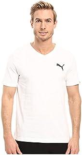 (プーマ) PUMA メンズTシャツ Iconic V-Neck Tee PUMA White SM S [並行輸入品]