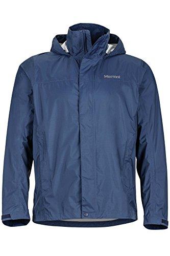 Marmot Men's Precip Light-weight Waterproof Rain Jacket, Arctic Navy, M