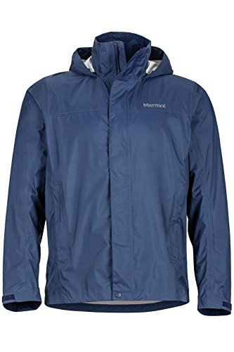 Marmot Men's Precip Jacket, Arctic Navy, Medium