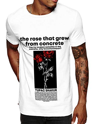 Swag Point Hip Hop T-Shirt - Funny Vintage Street wear Hipster Parody (L, Rose)