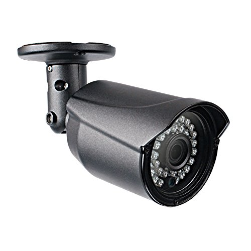 NYXCAM 1080P Bullet Security Camera, 4-in-1 HD(AHD/TVI/CVI/CVBS) CCTV Camera for DVR Surveillance System with 36 IR CUT LEDS for Night Vision 100ft, Metal IP66 Weatherproof