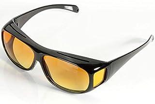 Unisex Night Optic Vision Driving Anti Glare HD UV Protection Sunglasses - 2724297849590