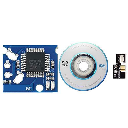 Kits de actualización para Nintendo GameCube, 1 chip XENO + 1 adaptador...