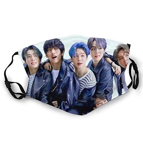 Hustor Gesichtsbedeckung Bandana BTS Wiederverwendbare Waschbar Earloop Gesicht Mundschutz Unisex Paisley Sturmhaube