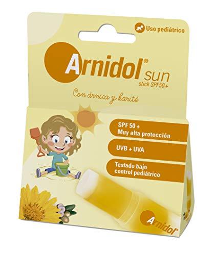 ARNIDOL Sun stick SPF 50+, alta protección UVA y UVB