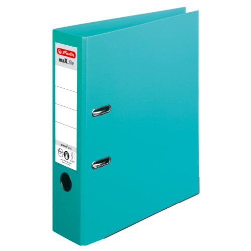 Herlitz 10834380 Ordner maX.file protect+ (A4, 8 cm) mint
