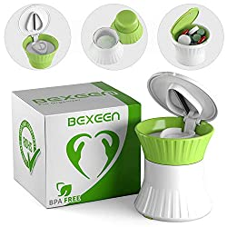 Patented Multifunction 3 in 1 Pill Cutter by Bexeen