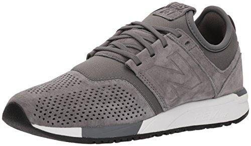 New Balance Herren 247v1 Sneaker, Grau (Grey/White Ly), 44 EU