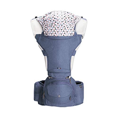 Porte-bébé Multifonction Bébé Respirant Assis sur la Taille Tabouret Amovible et indépendant Utilisation Quatre Saisons Universelle ( Color : C )
