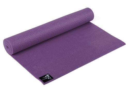 Yogistar Yogamatte Basic - rutschfest - Aubergine
