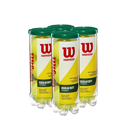 Wilson Champ RD Tennis Ball - 4 Can Pack